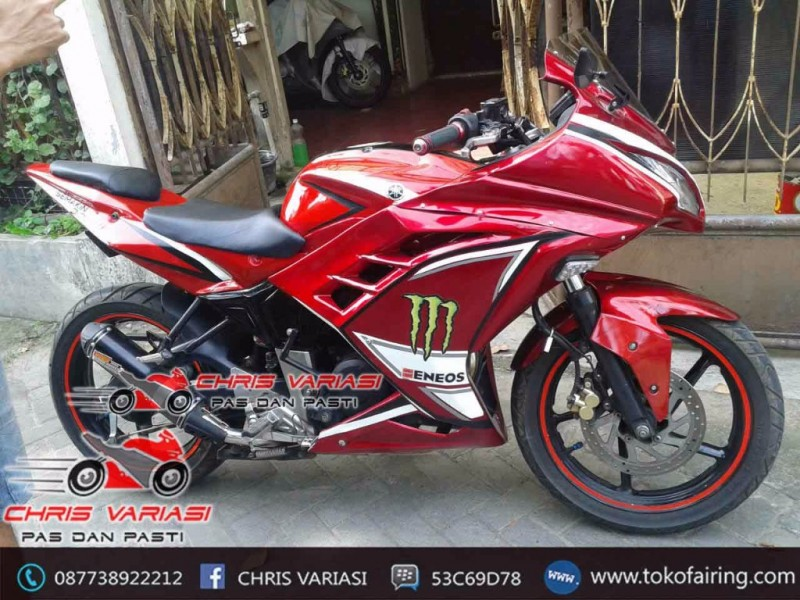 Full Fairing Ninja Injeksi Byson mix body r6