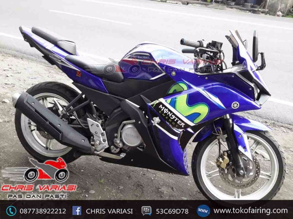 FAIRING FULL SET New Vixion New Vixion Movistar Modif Full