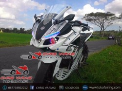 Full Fairing Cbr tokyo Concept mix body r25 v2 Tribal Wolf New Vixion