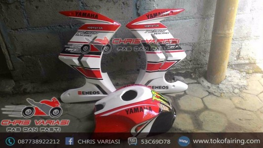 Half Fairing New Vixion + Cover Tangki GP Monster